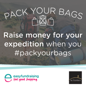 Pack Your Bags with easyfundraising