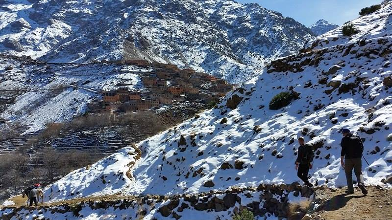 Taking on Toubkal!