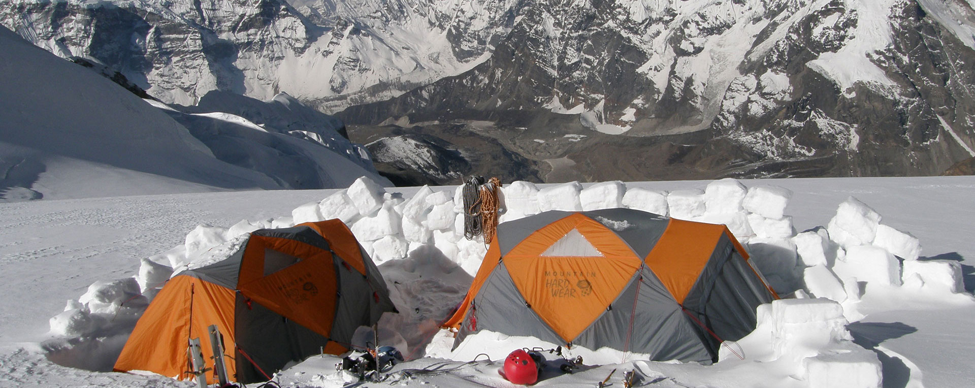 MAKALU BANNER 08 Camp 2 in sun